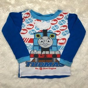 Thomas & Friends Pajama Shirt Size 4T